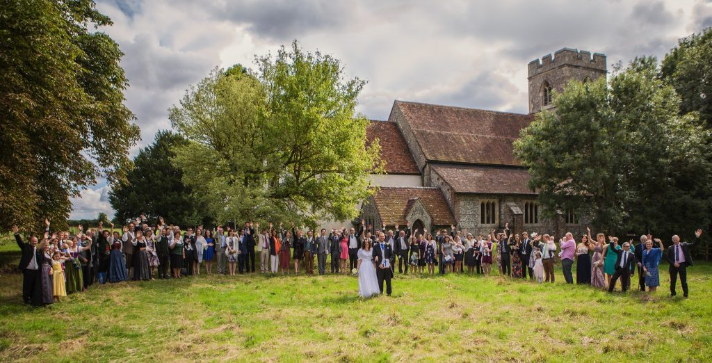 A well planned wedding is like a fantastic wedding party group portrait, all the elements need to be at the right place and at the same time.